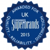 MARSHALLS AWARDED SUPERBRAND STATUS FOR 2015